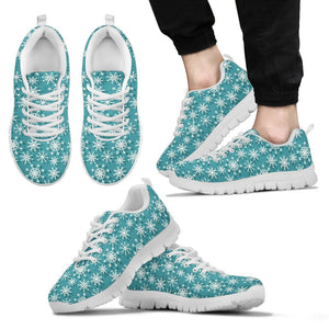 Christmas Men's Running Shoes Design - Men's Sneakers - White - Christmas 2 / US5 (EU38) - Ineffable Shop