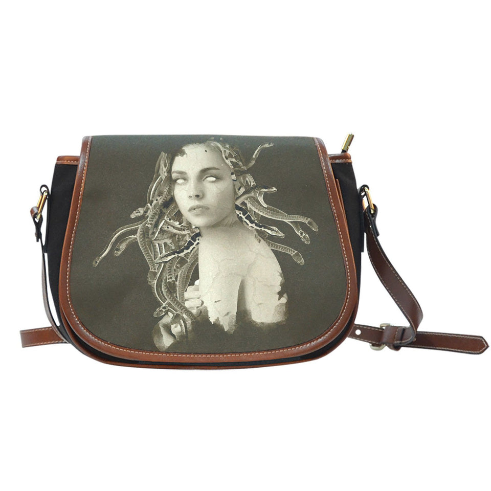 Medusa (Vintage) Saddle Bag - - Ineffable Shop