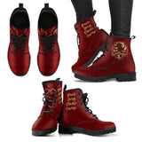Harry Potter 4 Houses Women's Boots HP0001 - Gryffindor / US5 (EU35) - Ineffable Shop
