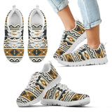 New Native American Pattern Kid's Shoes NT094 - Kid's Sneakers - White - Native American 2 / 11 CHILD (EU28) - Ineffable Shop