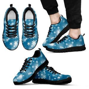 Christmas Men's Costume Shoes Design - Men's Sneakers - Black - Christmas 1 / US5 (EU38) - Ineffable Shop