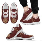 Harry Potter Hogwarts 4 Houses Men's Running Shoes HP0038 - Gryffindor - White / US5 (EU38) - Ineffable Shop