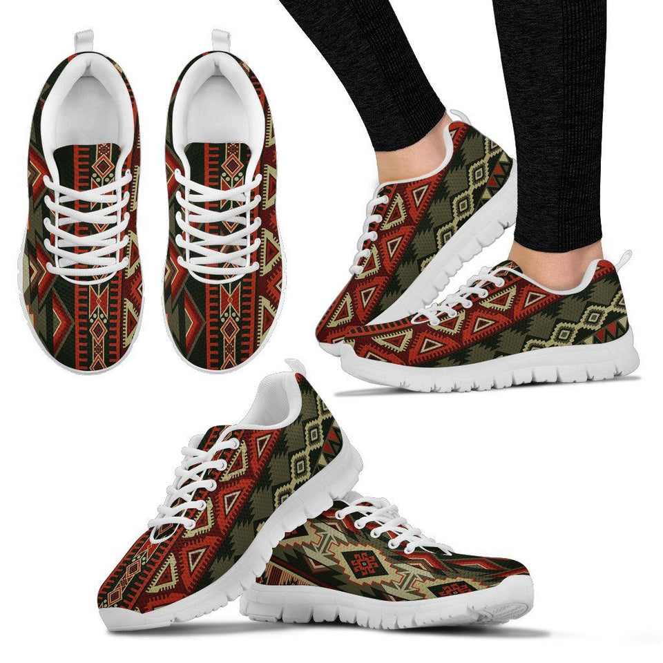 New Native American Indian Women's Costume Shoes NT058 - Women's Sneakers - White - Native 2 / US5 (EU35) - Ineffable Shop
