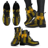 Harry Potter 4 House Women's Leather Boots Design HP0115 - Hufflepuff / US5 (EU35) - Ineffable Shop