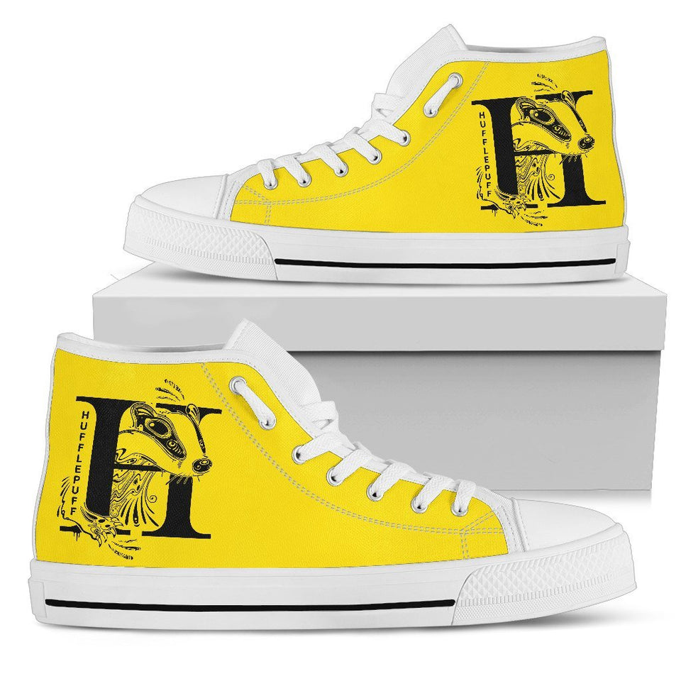 4 House Badges Women's High Top Shoe