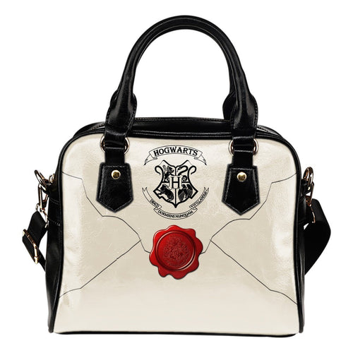 Hogwarts Letter Shoulder Handbag HP0106 - Ineffable Shop