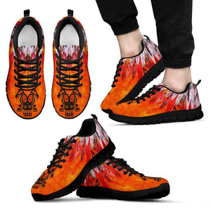 Native American Men's Running Shoes NT110 - Men's Sneakers - Black - Native American 1 / US5 (EU38) - Ineffable Shop