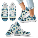 Native American Pattern Kid's Sneakers NT021 - Kid's Sneakers - White - Native American 2 / 11 CHILD (EU28) - Ineffable Shop