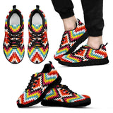 Native American Indian Men's Sneaker Design NT064 - Men's Sneakers - Black - Native 1 / US5 (EU38) - Ineffable Shop