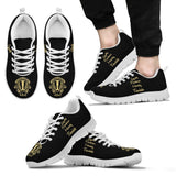 Harry Potter Hogwarts 4 Houses Men's Running Shoes HP0038 - Hufflepuff - White / US5 (EU38) - Ineffable Shop
