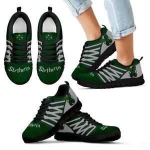 Harry Potter 4 Houses Kid's Running Shoes HP0030 - Slytherin - Black / 11 CHILD (EU28) - Ineffable Shop