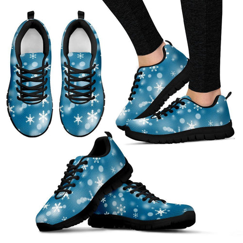 Christmas Women's Costume Shoes Design - Women's Sneakers - Black - Christmas 1 / US5 (EU35) - Ineffable Shop