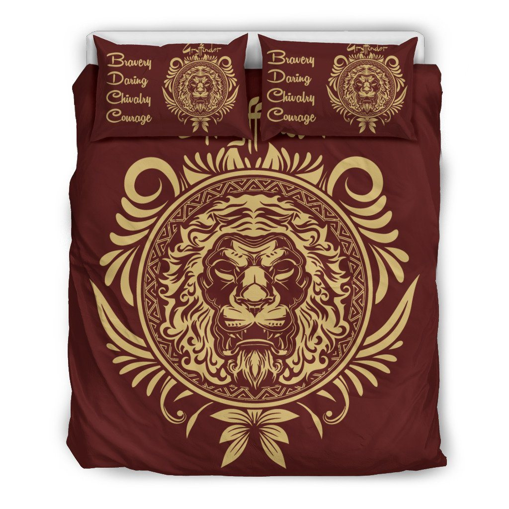 Harry Potter 4 Houses Bedding Set HP0044 - Gryffindor - Black / Twin - Ineffable Shop