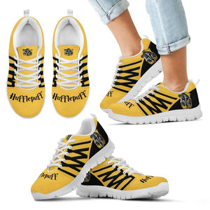 Harry Potter 4 Houses Kid's Running Shoes HP0030 - Hufflepuff - White / 11 CHILD (EU28) - Ineffable Shop