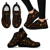 Halloween Women's Sneakers HLW014 - Women's Sneakers - Black - Halloween 1 / US5 (EU35) - Ineffable Shop