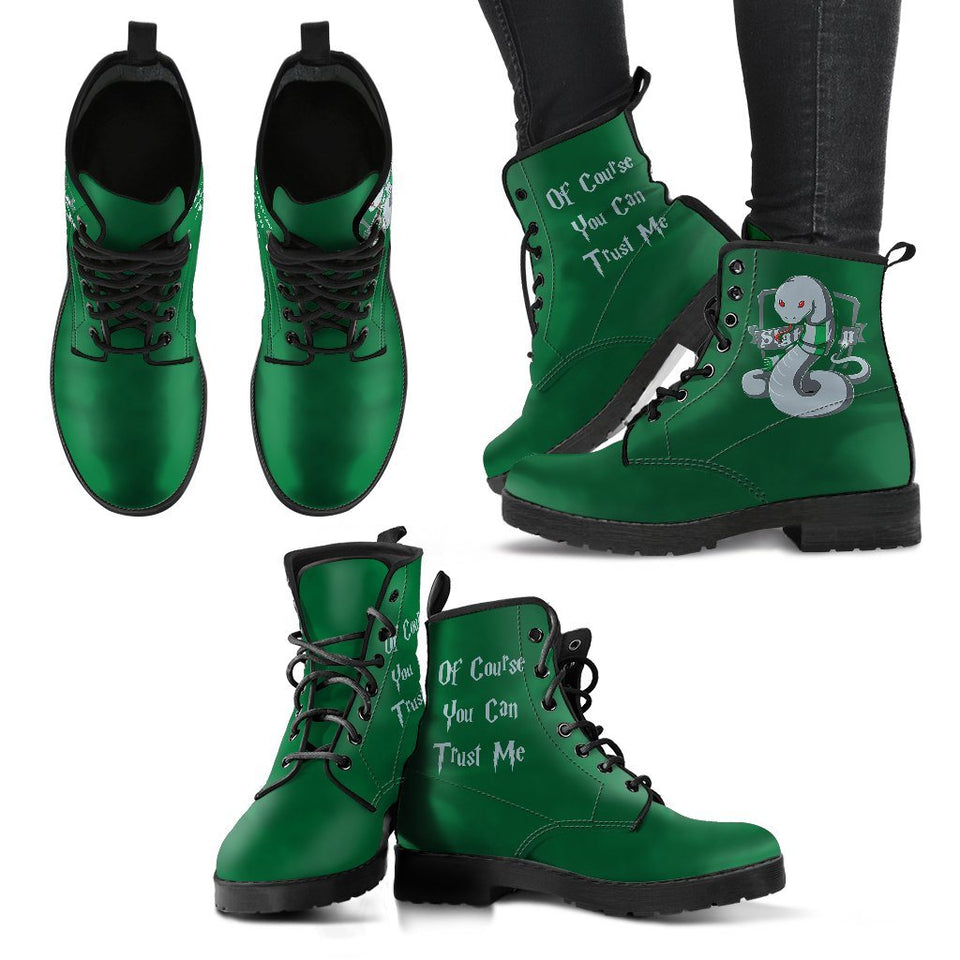 Hogwarts 4 Houses Women's Boots HP0003 - Slytherin / US5 (EU35) - Ineffable Shop