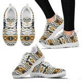 New Native American Pattern Women's Shoes NT093 - Women's Sneakers - White - Native American 2 / US5 (EU35) - Ineffable Shop