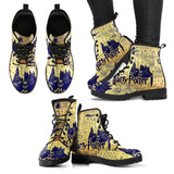 Harry Potter Hogwarts School Leather Boots HP0137 - - Ineffable Shop
