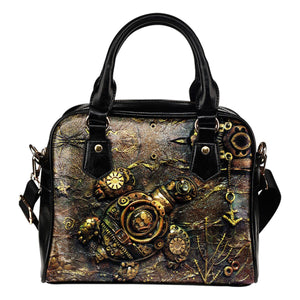 Turtle Steampunk Handbag - - Ineffable Shop
