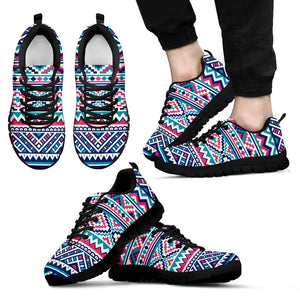 Native American Men's Running Shoes NT073 - Men's Sneakers - Black - Native 1 / US5 (EU38) - Ineffable Shop