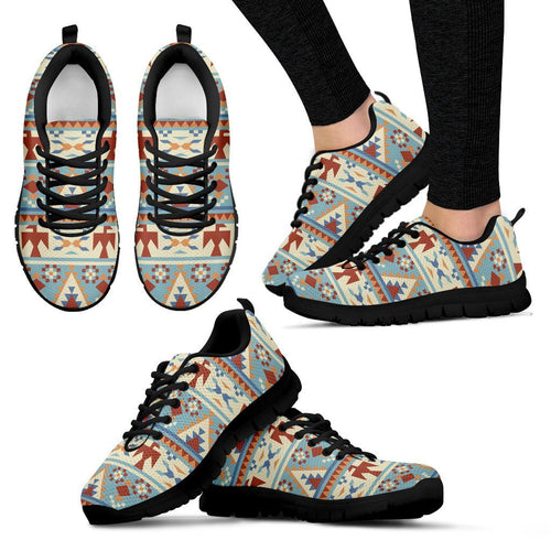 Native American Women's Running Shoes NT075 - Women's Sneakers - Black - Native American 1 / US5 (EU35) - Ineffable Shop