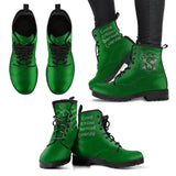 Harry Potter 4 Houses Women's Boots HP0001 - Slytherin / US5 (EU35) - Ineffable Shop