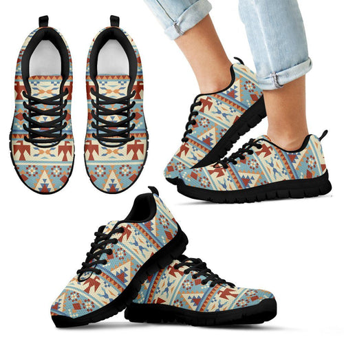 Native American Kid's Running Shoes NT077 - Kid's Sneakers - Black - Native American 1 / 11 CHILD (EU28) - Ineffable Shop