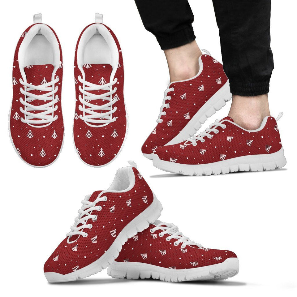 Christmas Tree Men's Running Shoes - Men's Sneakers - White - Christmas 2 / US5 (EU38) - Ineffable Shop