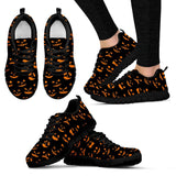 Halloween Women's Running Shoes HLW008 - Women's Sneakers - Black - Halloween 1 / US5 (EU35) - Ineffable Shop