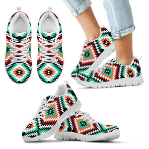 New Native American Indian Kid's Sneaker NT048 - Kid's Sneakers - White - Native 2 / 11 CHILD (EU28) - Ineffable Shop