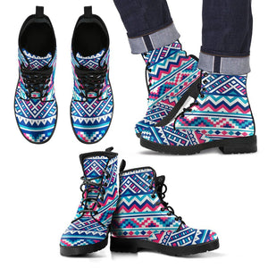 Native American Costume Leather Boots NT017 - Ineffable Shop