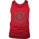 Slytherin District Mens Tank - District Mens Tank / Red / S - Ineffable Shop