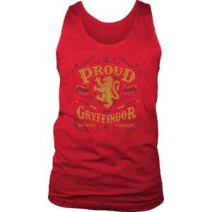Gryffindor Pride District Mens Tank - District Mens Tank / Red / S - Ineffable Shop