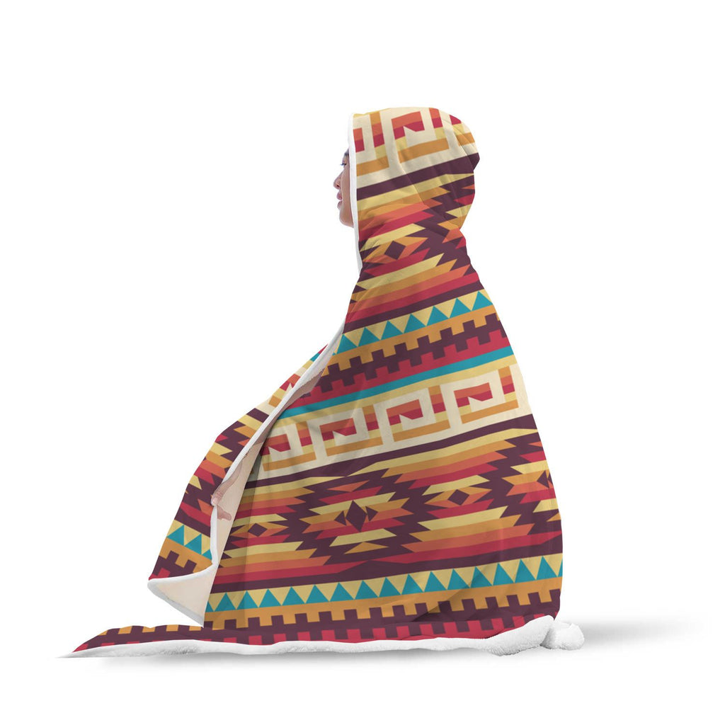 Native American Hooded Banket