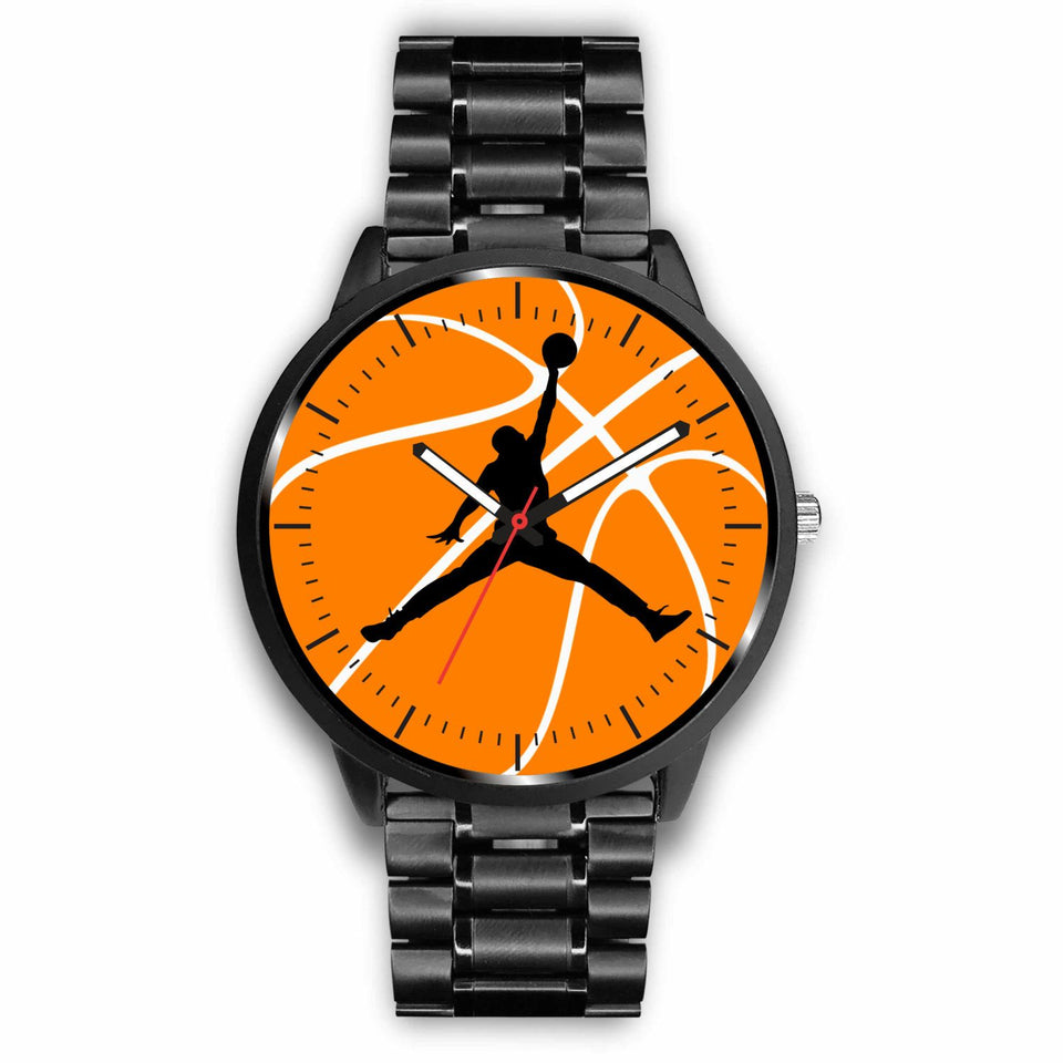 Basketball Watches - Mens 40mm / Metal Link - Ineffable Shop