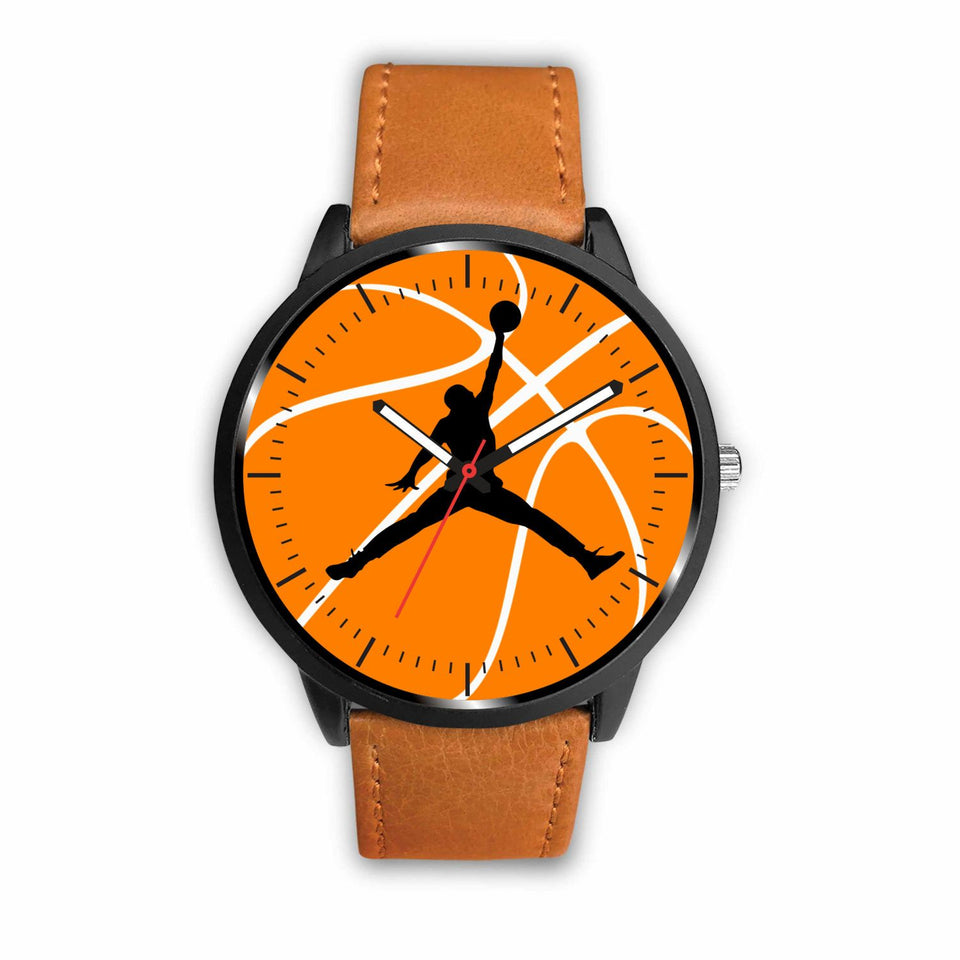 Basketball Watches - Mens 40mm / Brown - Ineffable Shop