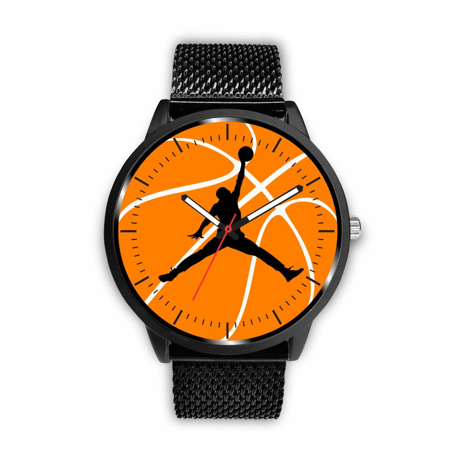 Basketball Watches - Mens 40mm / Metal Mesh - Ineffable Shop