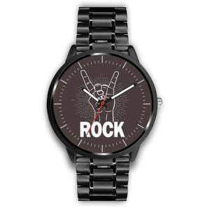 Rock Watches - Mens 40mm / Metal Link - Ineffable Shop