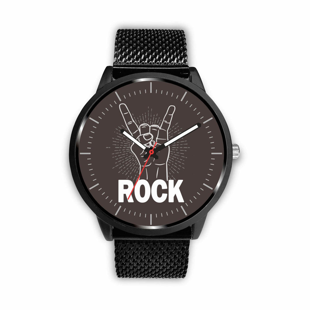 Rock Watches - Mens 40mm / Metal Mesh - Ineffable Shop