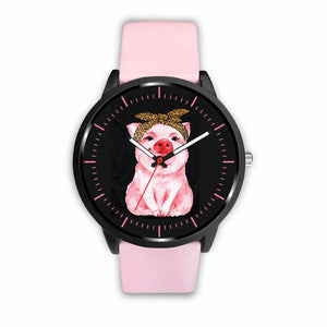 Pig Watches - Mens 40mm / Pink - Ineffable Shop