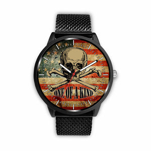 Skull Watches - One Of A Kind - Mens 40mm / Metal Mesh - Ineffable Shop
