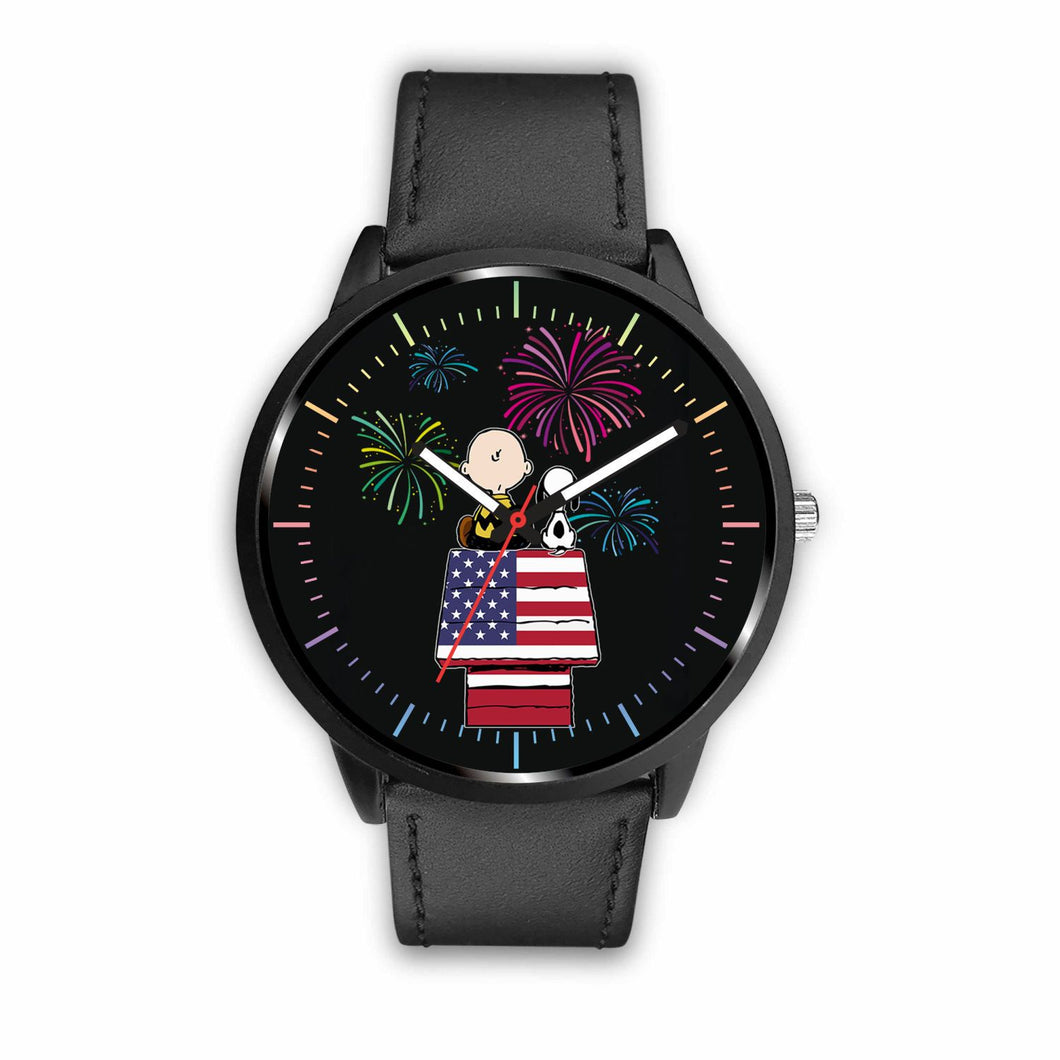 Cute Dog Watches - Mens 40mm / Black - Ineffable Shop