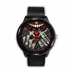 Sick Joke Watches - Mens 40mm / Metal Mesh - Ineffable Shop