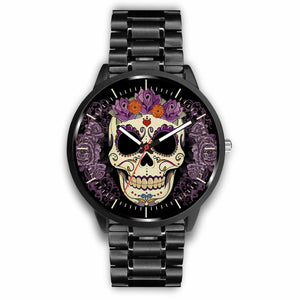 Skull Watches - Mens 40mm / Metal Link - Ineffable Shop