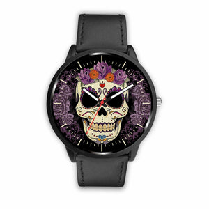 Skull Watches - Mens 40mm / Black - Ineffable Shop