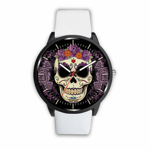 Skull Watches - Mens 40mm / White - Ineffable Shop