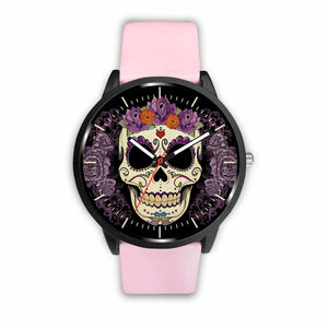 Skull Watches - Mens 40mm / Pink - Ineffable Shop