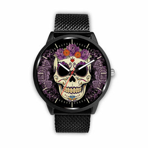 Skull Watches - Mens 40mm / Metal Mesh - Ineffable Shop