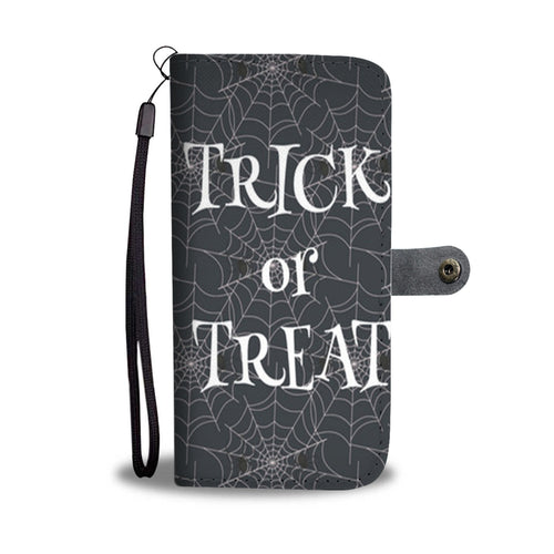 Halloween Trick Or Treat Wallet Case - - Ineffable Shop