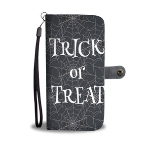 Halloween Trick Or Treat Wallet Case - Ineffable Shop